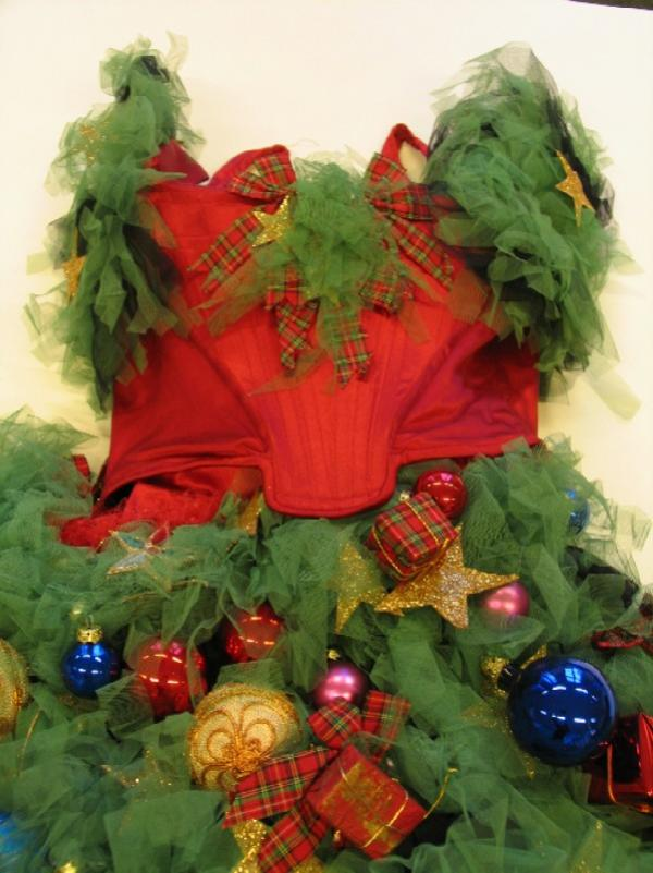 Christmas dress by Vivienne Westwood