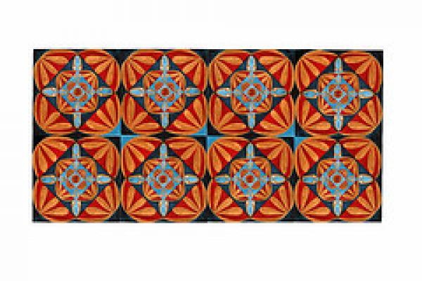 Nagat El-Mahi, design for a British Sari