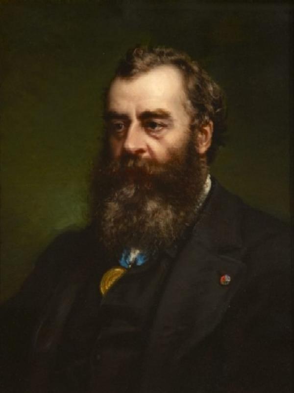 Alessandro Ossani, Sir Matthew Digby Wyatt, ca. 1878