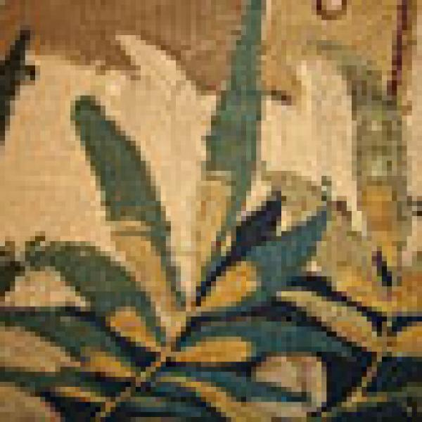 The War of Troy tapestry, detail - Click to enlarge.