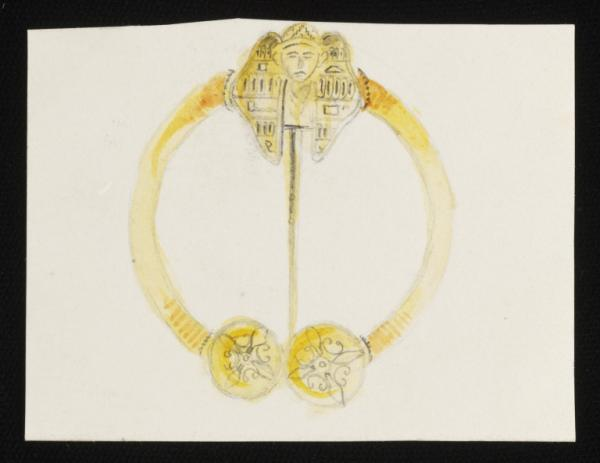 Jewellery design by John Brogden, c.1860