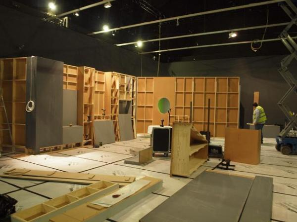 A view of the William Kent exhibition build