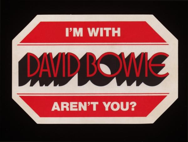 I'm With David Bowie...Aren't you?