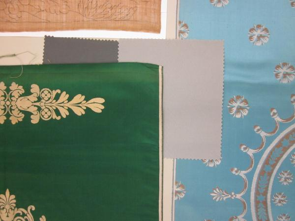 18th century silks and 21st century swatches
