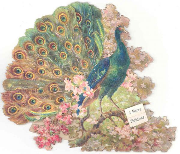Christmas card, 1885 - 1900. Museum no. B.462-1993. © Victoria and Albert Museum, London.
