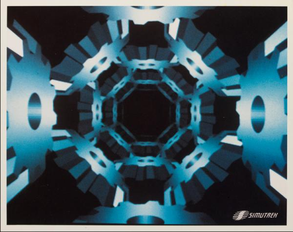 Cube Quest, photograph, Paul Allen Newell, about 1984. Museum no.E.985-2008