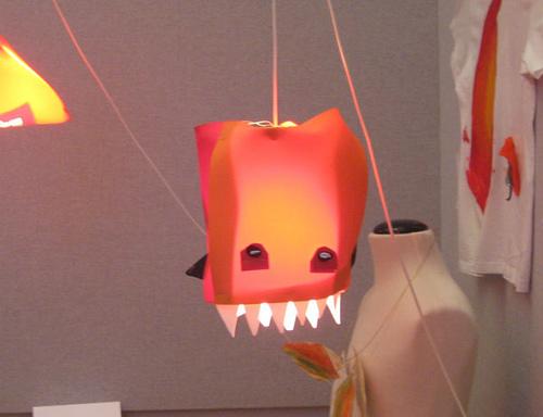 Dragon lamp - Design your life workshop - Lao Jianhua