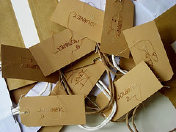 Sumi Perera, Luggage Labels, 2009