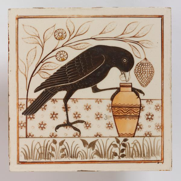 Tile, Minton, Hollins & Co, about 1875. Museum no. C.186E-1976. © Victoria and Albert Museum, London.
