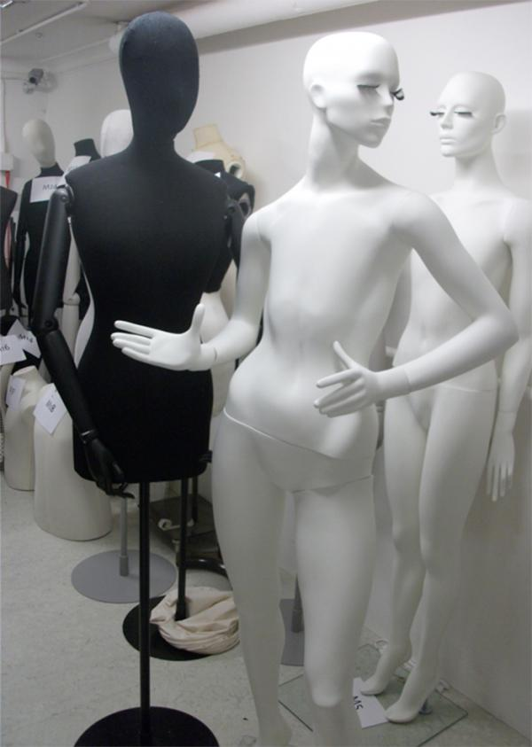 An assortment of mannequins. © Victoria and Albert Museum, London.