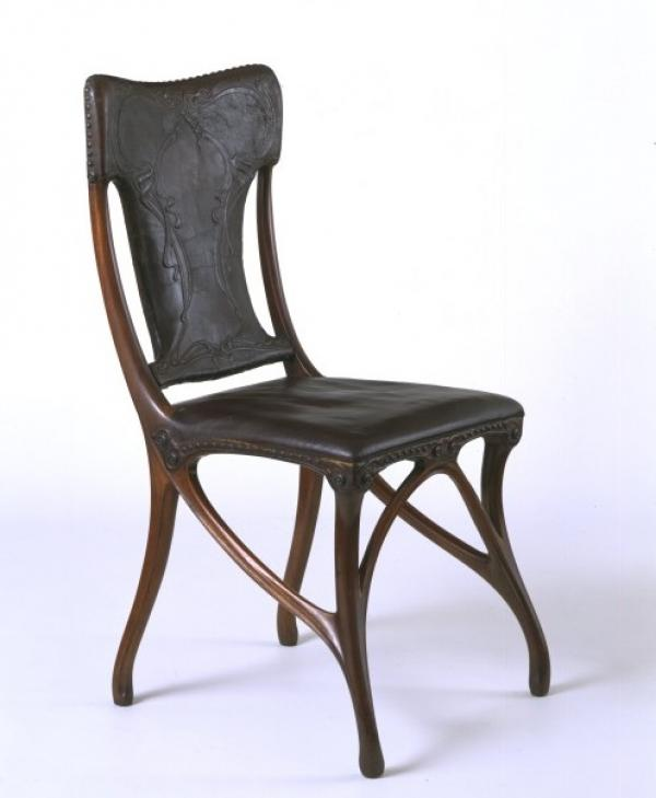 Chair, French, 1899-1900, designed by Gaillard