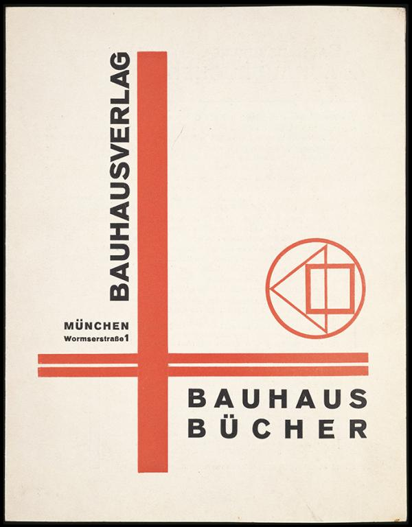 Brochure, László Moholy-Nagy, about 1924 (published). Museum no. E.1484-1984 © Victoria and Albert Museum