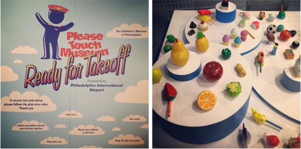 Displays from the Please Touch Museum (Children's Museum of Philadelphia). © Kati Price