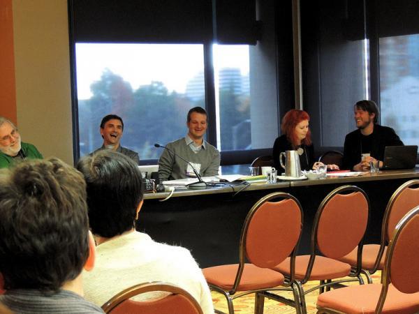 blog session at MCN