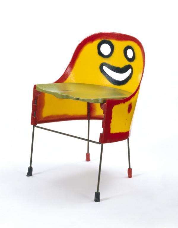 Gaetano Pesce's Crosby child's chair. Museum number W.51-2005