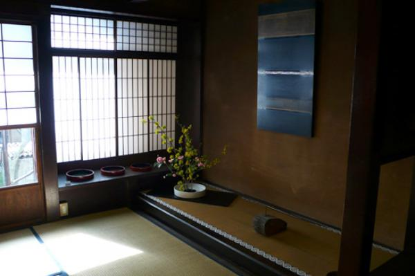 Exhibition of contemporary lacquer in Kyoto former residence, 2008