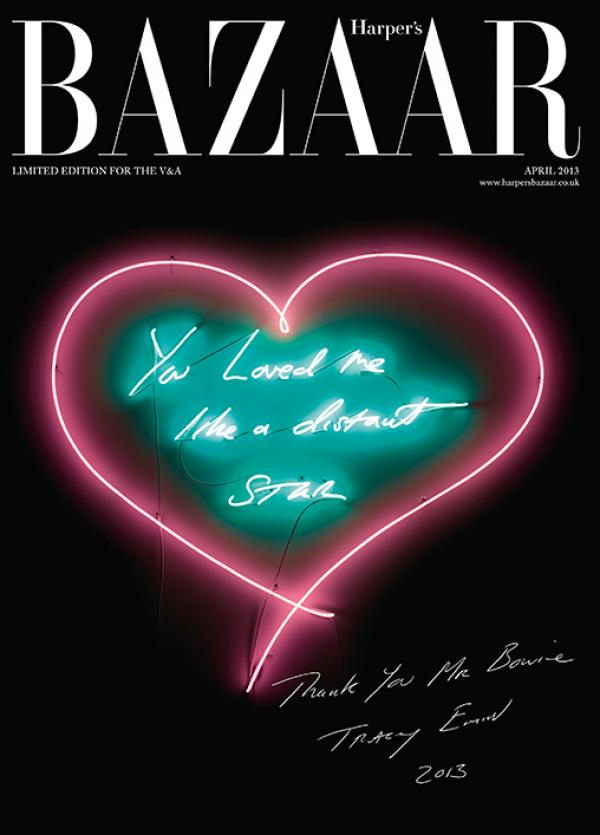 April 2013 issue of Harper's Bazaar exclusive to the V&A