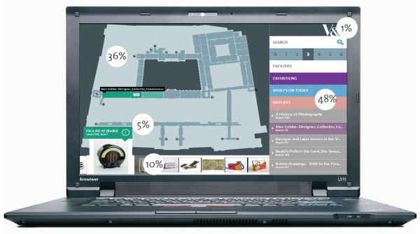 Explorer Map - access patterns on desktop