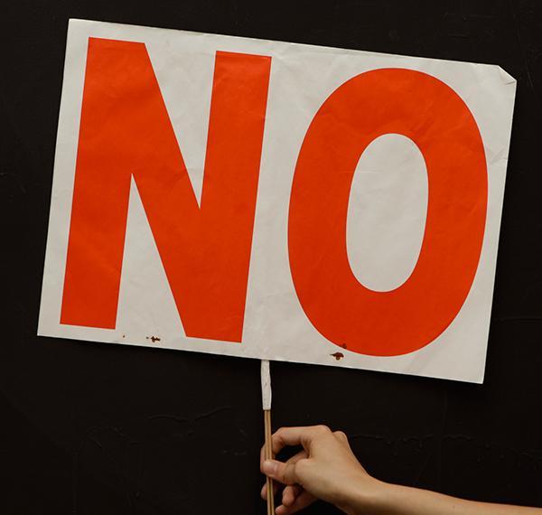"""NO!"". Archivo 15M. CC"