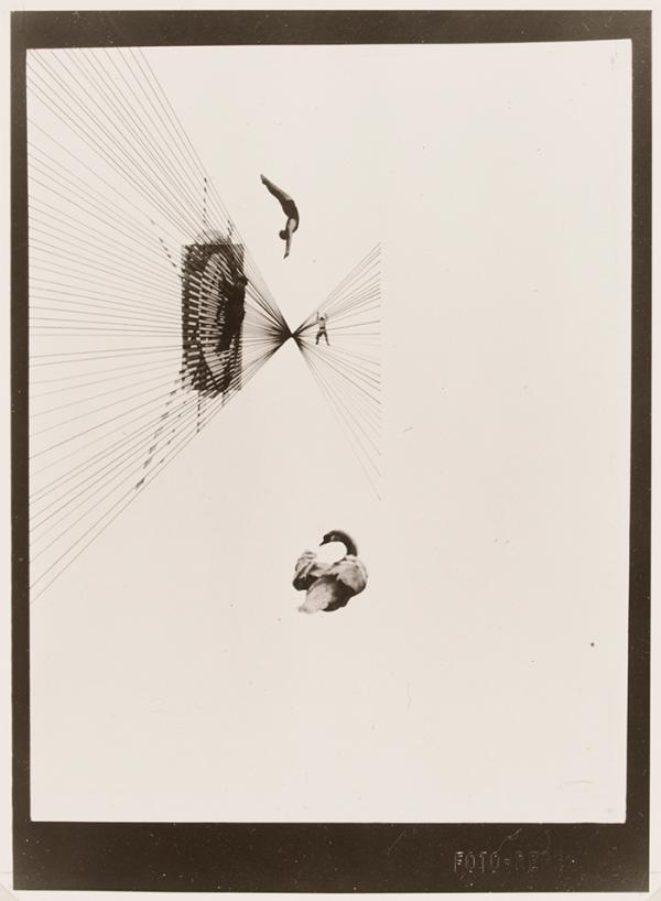 Fotoplastiken; Leda und der Schwan, Photograph, László Moholy-Nag, 1926 (made). Museum no. CIRC.202-1974 © Victoria and Albert Museum