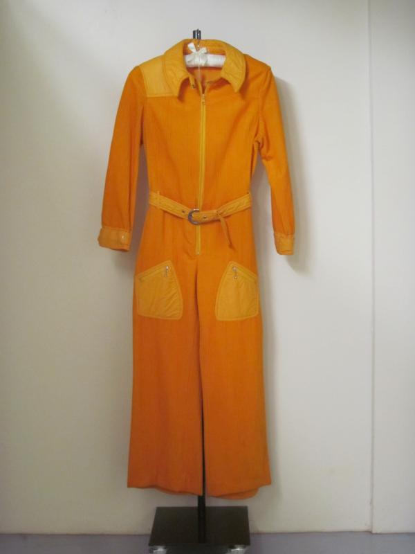 T.303-1985, Bright yellow jumpsuit, Hauser Sport, 1970