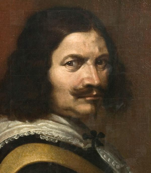 Portrait of an unknown man (detail), unknown artist, about 1640. Museum no. P.46-1919. © Victoria and Albert Museum, London