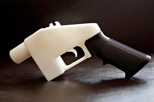 'Liberator' gun. Cody Wilson / Defence Distributed, 2013
