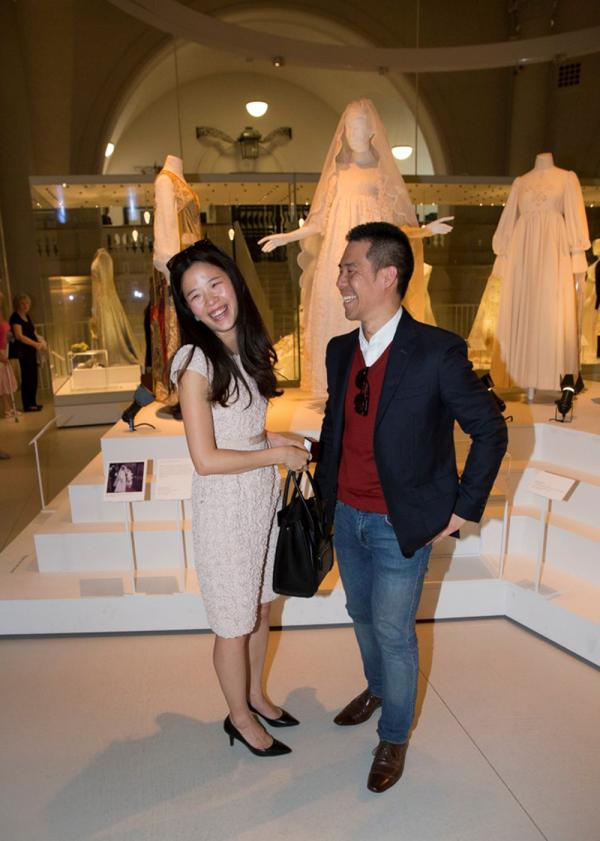Jonathan and Sunhye celebrate getting engaged. © Victoria and Albert Museum, London