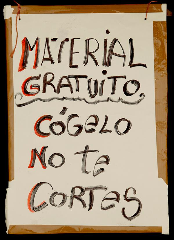 """FREE MATERIAL: TAKE IT! DON´T BE SHY!"" Archivo 15M. CC"