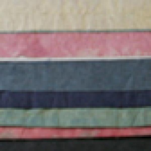 Dyed papers, Parkes Collection - Click to enlarge