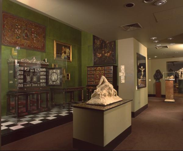 View of the gallery in previous incarnation
