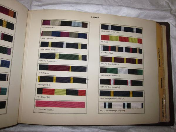Pattern book of club ties, musuem no. T.200-1993
