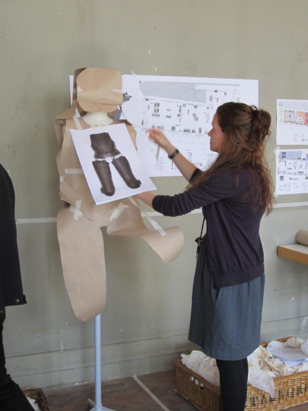 Creating paper armour