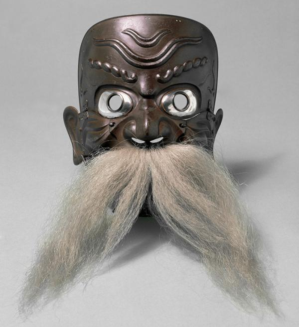 Mask, Myochin Muneyasu, Japan, about 1800. Museum no. M.78-1928. © Victoria and Albert Museum, London.