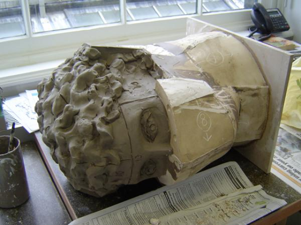 Janus Head mould