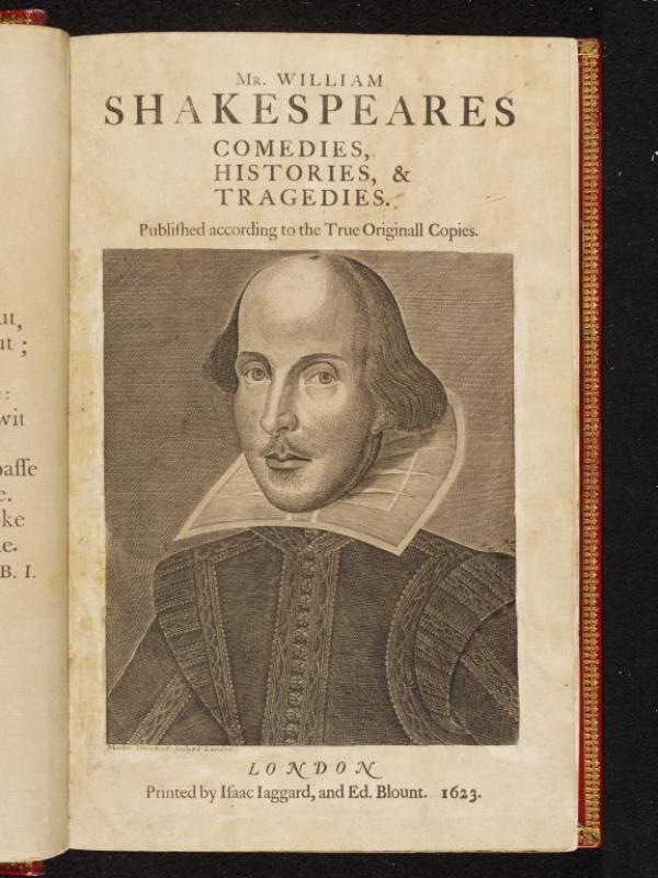 John Jones' copy of Shakespeare's First Folio
