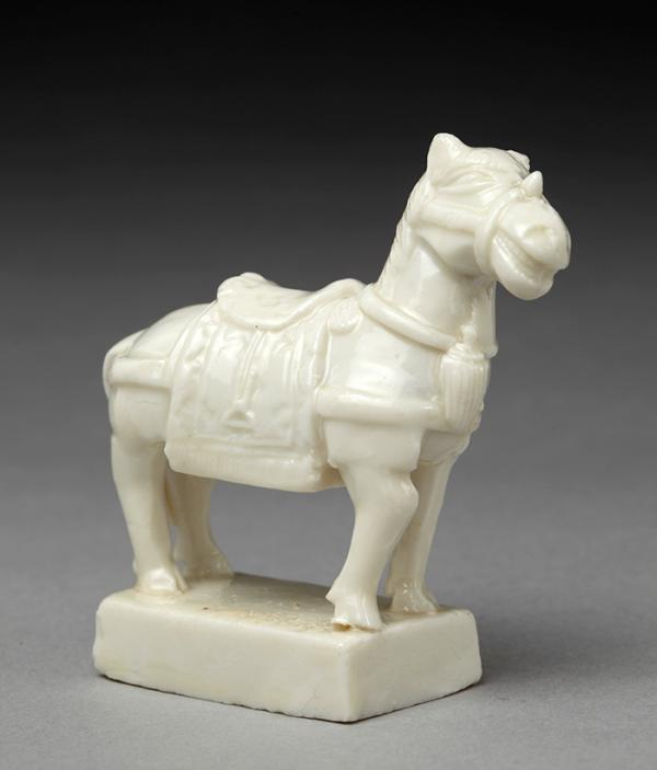 Figure of a horse, unknown maker, China, 1700 - 1800. Museum no. 3357-1853. © Victoria and Albert Museum, London.