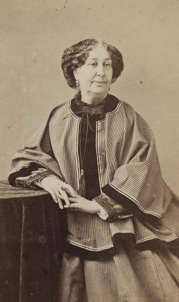 Nadar, photograph of George Sand, 1860s Museum number 81:870, © Victoria and Albert Museum, London