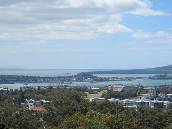 View from Auckland Museum. © Victoria and Albert Museum, London.