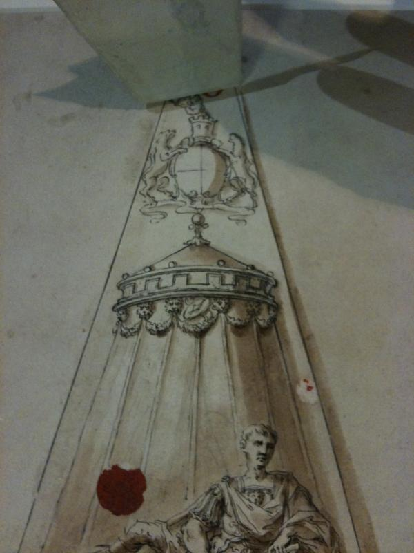 An alternative design for Stanhope's monument, by William Kent