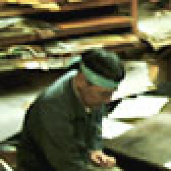 'Katagami' workshop, Kyoto, Japan, 2006- Click to enlarge