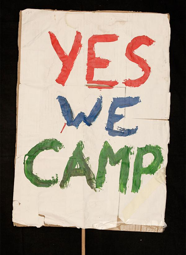 """YES WE CAMP"". Archivo 15M. CC"