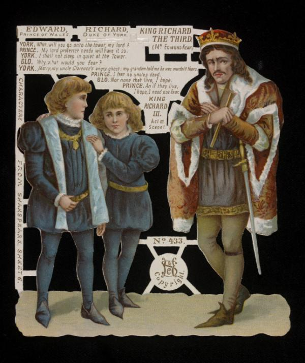 "Siegmund Hildesheimer & Co, 'King Richard III Act III Scene 1"", 1890s, Museum Ref: S.63-2008 © Victoria and Albert Museum, London"