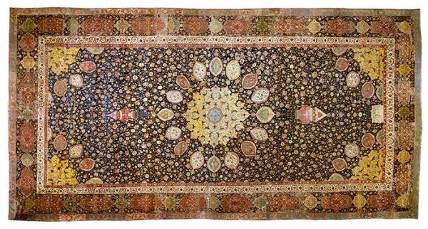 Medallion carpet (the 'Ardabil Carpet'), early 16th century, Museum no. 272-1893