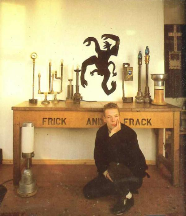 Alan Macdonald at The House of Beauty and Culture in The New Spirit in Craft and Design by The Crafts Council 1987
