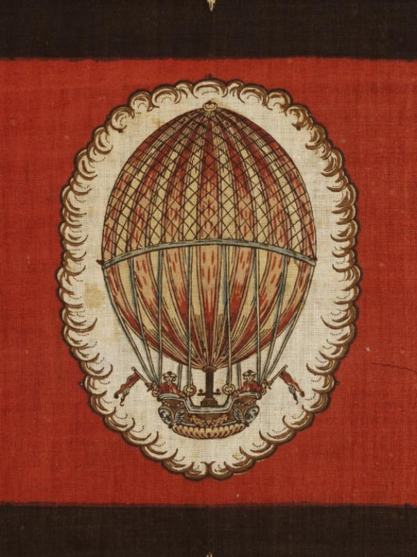 Detail of the balloon