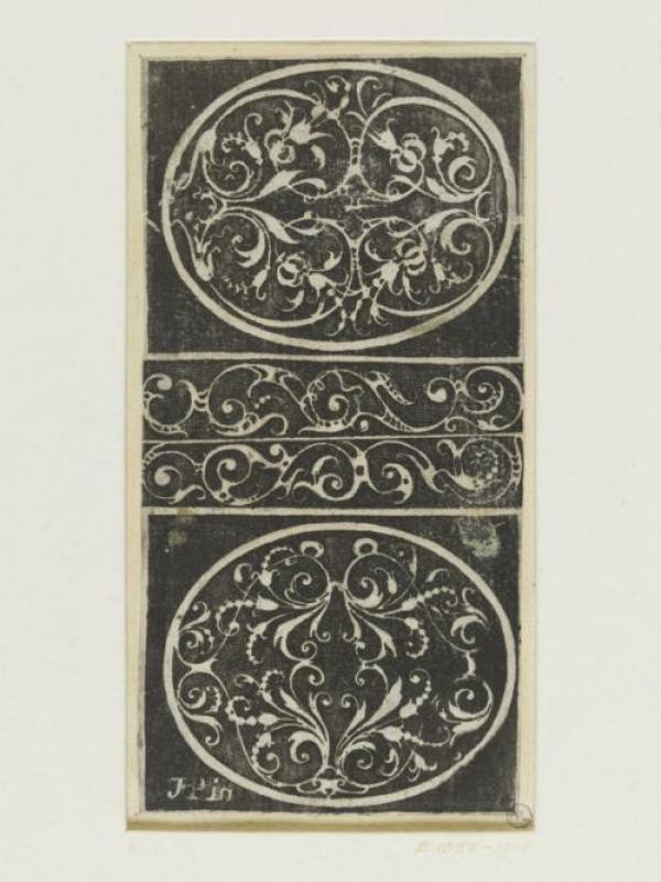 Thomas Picquot, plate from the Livre de Diverses Ordonnances de Feuillages Mores