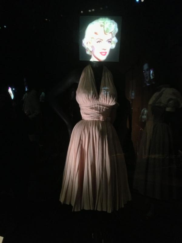 white dress worn by Marilyn Monroe in The Seven Year Itch