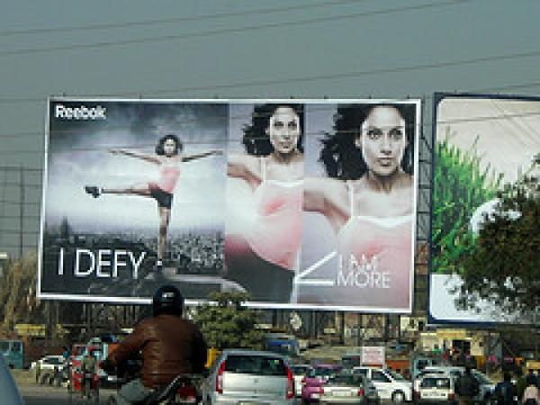 Delhi advertising