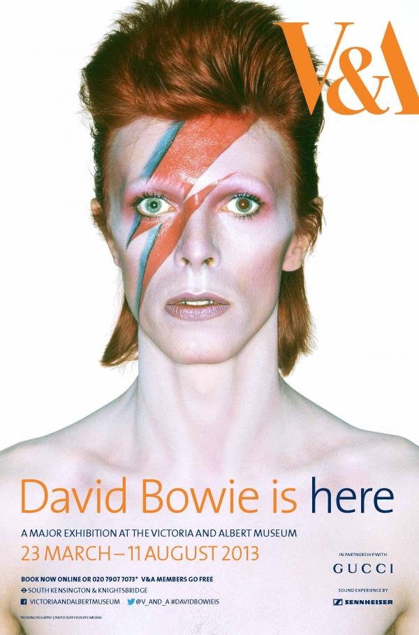David Bowie is poster